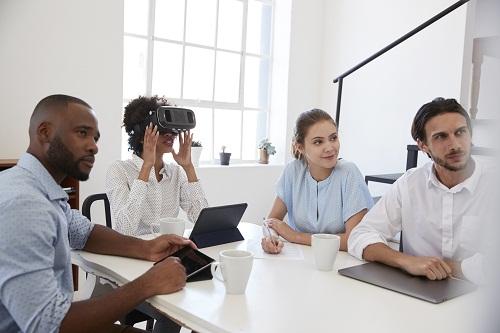 une entreprise de réalité virtuelle